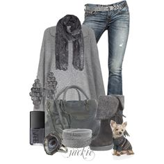 """""""Monochrome Love"""" by jackie22 on Polyvore"""