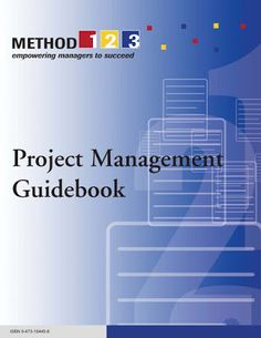 Free Books to Download and Study: Project Management Guide Book