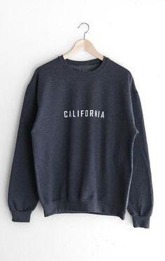 NYCT Clothing New York Oversized Sweatshirt - Dark Heather Grey Sweatshirt Outfit, Earl Sweatshirt, Crew Neck Sweatshirt, Vintage Crewneck Sweatshirt, New York Fashion, Hoodie Sweatshirts, Hoodies, California Sweater, Cali California