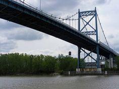 Anthony Wayne Bridge - Toledo, Ohio also known as the High Level Bridge - built between 1929 and 1931