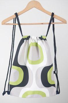 Backpack laptop purse Disco handmade for by LaIndustriaDeMayka, €14.95
