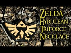 Zelda Necklace Tutorial Polymer Clay.  http://youtu.be/oxLgEoQXEw0