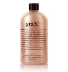"Philosophy Amazing Grace Shower Gel  ""life is a classroom..."""