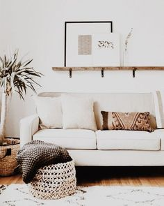 Natural textiles add texture and warmth. Rugs on timber floors, cozy woolen throws, soft plump cushions. #livingroomCushionsbeautiful