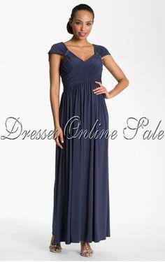 Sheath Floor-length Scoop Dress  Mother of Bride dress in silver?