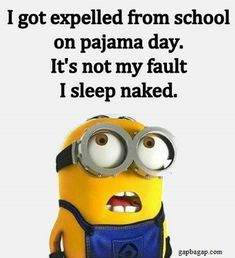 Funny Minion Joke About School