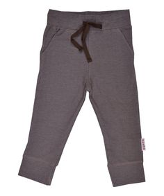 Baba Babywear super coole strakke broek in chocolade bruin. baba-babywear.nl.emilea.be