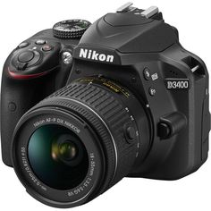 Nikon D 3400 New entry
