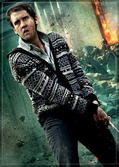 Harry Potter - Neville Longbottom With Wand - Refrigerator Magnet