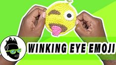 Winking Eye Tongue Out Emoji, Make Me ? Lets crochet a winking eye, tongue out emoji. This is one of my favorite emojis. They are very specificwhen naming these emoji names, arent they? This pattern assumes you already know how to crochet a circle and Tongue Out Emoji, Eyes Emoji, Hand Crochet, Crochet Hooks, Free Crochet, Baby Blanket Crochet, Crochet Baby, Emoji Patterns, Boyfriend Crafts