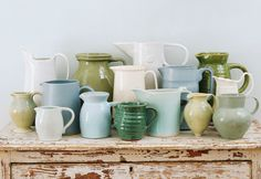 Obsessed with ceramic pitchers...