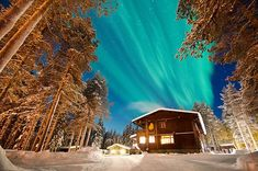 A Northern Lights trip to Finland doesn't have to cost the earth. A hostel in Finland offers stays from per night for a cheap winter holiday. Northern Lights Holidays, Northern Lights Trips, See The Northern Lights, Mystery Hotel, European City Breaks, Romantic Breaks, Spa Breaks, Secret Escapes, Cheap Holiday
