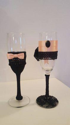 Guarda questo articolo nel mio negozio Etsy https://www.etsy.com/it/listing/468711068/set-bicchieri-champagne-idea-regalo