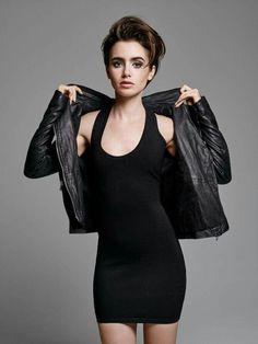 Lily Collins                                                       …