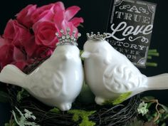 Hey, I found this really awesome Etsy listing at https://www.etsy.com/listing/216208074/love-birds-cake-topper-cake-topper