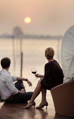 hanio #sunset #couples