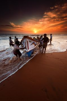 The End of the Day, Kerala, India ***
