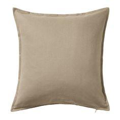 IKEA - GURLI, Fodera per cuscino, Grazie alla cerniera, la fodera è facile da togliere.
