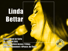 Linda Bettar, a graduate of the Higher Institute of Music in 2007 in Oriental singing. She participated in several festivals in the Arab world and in Europe.