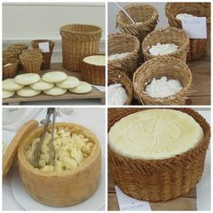 #Sicilian #cheese triumph: #Vastedda del Belice cheese, #ricotta cheese in traditional cane basket, #caciocavallo flakes and #primo sale. To taste them at #Trapani, #Sicily, have a look at bebtrapanilveliero.it