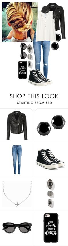 """""""Destiny Said It, You Got To Get Up And Get It"""" by frootloop16 ❤ liked on Polyvore featuring IRO, West Coast Jewelry, H&M, Converse, Minnie Grace, Givenchy and Casetify"""