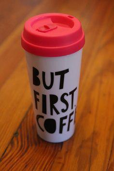 But First Coffee Travel Mug | Hazel & Olive