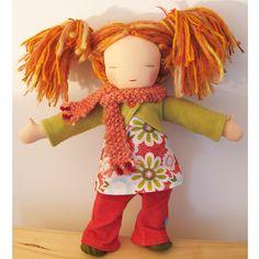 so cute~a more modern waldorf doll