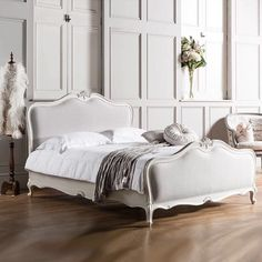 Welcome to the French Bedroom Company, award winning French furniture boutique. Explore our inspiring range of French beds and luxury bedroom furniture. Wood And Upholstered Bed, Bedroom Furniture, Bedroom Decor, Bedroom Ideas, Master Bedroom, Luxury Furniture, Master Suite, French Furniture, Bed Styling