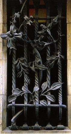 Antonio Gaudi, Guell Palace, Wrought Iron.