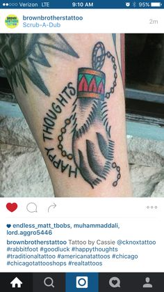 Friday the 13th rabbit foot inspirations tattoos for Friday the 13th tattoos michigan