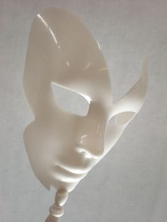 Blank Masks Full Face Adult  on Dowel (handheld mask)   8 in.   $4.99 each