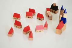 little village blocks.