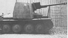 A Panzer 38t with a interesting S/P gun modification using a 75mm Stu.Kan.