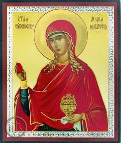 St. Mary Magdalene with Red Egg
