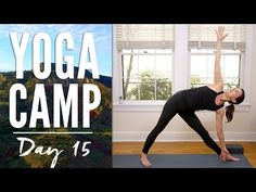 Yoga Camp - Day 2! 30 Days Of Yoga Camp continues. Create space with this full practice. The mantra today is I CREATE. Finish that sentence, get a work out, ...