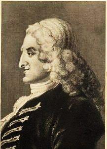 English novelist Henry Fielding 1707-1754