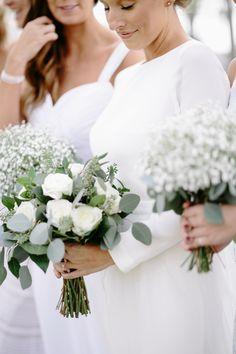 Photography : Q Avenue Photo | Wedding Dress : LOVA WEDDINGS Read More on SMP: http://www.stylemepretty.com/illinois-weddings/2016/08/15/rustic-midwest-fall-wedding/