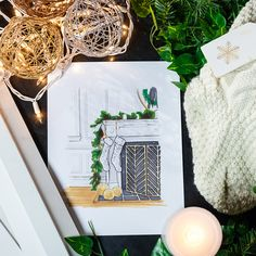 This winter, deck out your dream fireplace with inspiration from Jennifer of Rambling Renovators. Different Holidays, Beautiful Space, Small Spaces, Table Settings, Boards, Decor Ideas, Table Decorations, Christmas, Inspiration