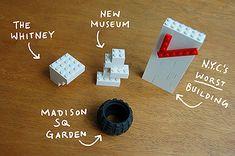 I LEGO N.Y. by the brilliant Christoph Niemann (♥)