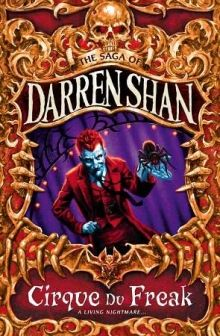 Cirque du Freak series by Darren Shan  A simple visit to a freak show turns into creepy excitment!