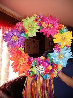 fiesta door wreaths