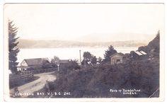 Real photo postcard of Cowichan Bay circa 1913.  http://stores.ebay.ca/circa1930s-vintage-postcards?_rdc=1