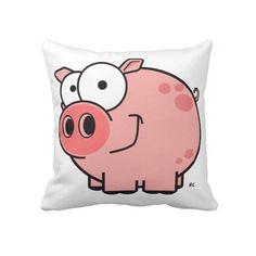 Cartoon Pig Pillow