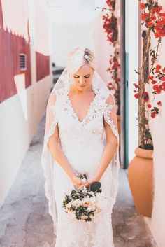 Image by Matt Horan - Allure Bridal Wedding Gown For A Destination Wedding At Villa Oliviero Italy With Bridesmaids In Coast And Images by Matt Horan Nottingham Based Photographer