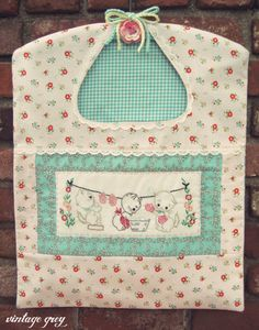 sewing idea for clothespin bag ♥