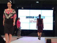 #Anna Scholz for #Sheego: Runway auf der #Curvy | PlusPERFEKT.de