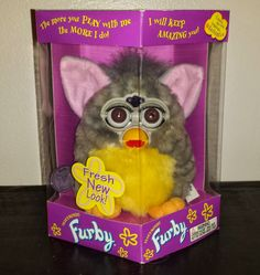 GO FURBY - #1 Resource For Original Furby Fans!: SUPER RARE - SUNRISE FURBY - LIMITED EDITION