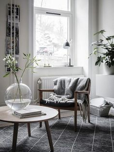 29 Green and Grey Duo for the Room – Living Room Cozy Cozy Living Rooms, My Living Room, Living Room Interior, Home And Living, Living Room Decor, Living Spaces, Living Room Inspiration, Interior Inspiration, Contemporary Interior Design