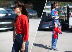 high-waisted-jeans-street-style-nyfw