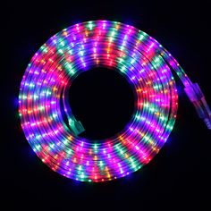 New glowing dichroic glass installations by chris wood are activated led strip smd3014 colorful 72ledm multicolor ac220v 1m5m15m20m30m ip67 waterproof outdoor flexible led tape ribbon light aloadofball Gallery
